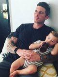 Zack Merrick (and his son Bastille)